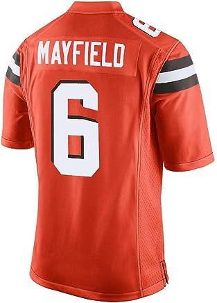 1cf0449737e Baker Mayfield Orange Game Jersey