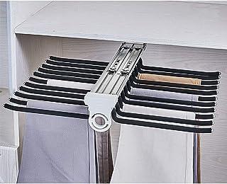 Cintres Pantalons Hanger Rangement Dressing Porte Porte Pantalons Extractible Pour Rangement Dressing Coulissant Pantalons...