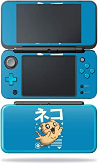 MightySkins Skin Compatible with Nintendo New 2DS XL - Feline Kawaii | Protective, Durable, and Unique Vinyl Decal wrap Cover | Easy to Apply, Remove, and Change Styles | Made in The USA