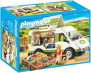 PLAYMOBIL Country Mercado Móvil, A partir de 4 años (70134