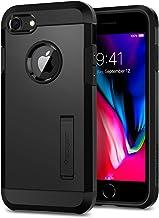Spigen Coque iPhone 7, Coque iPhone 8 [Tough Armor] Protection Ultime [US Military Grade] et [Air Cushion] Coque Compatible avec iPhone 7/8 - Noir