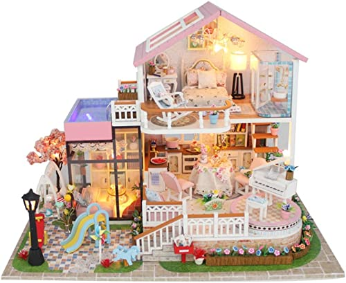 ahorra hasta un 30-50% de descuento JLA Juguetes del Dollhouse, Dollhouse, Dollhouse, Sistemas de DIY, Juguetes Hechos a Mano creativos del Rompecabezas montados, Juguetes de Madera del Dollhouse para Las Muchachas y los Muchachos, los Mejores Regalos  Ahorre hasta un 70% de descuento.