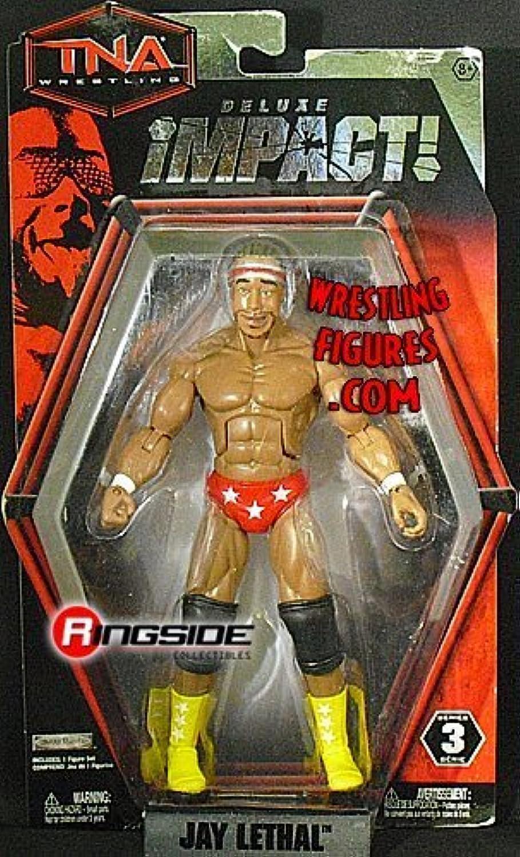 precio mas barato JAY LETHAL - DELUXE DELUXE DELUXE IMPACT 3 TNA JAKKS TOY WRESTLING Acción Figura by Jakks  Las ventas en línea ahorran un 70%.