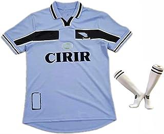CFJJH Camiseta de fútbol Adulta, Lazio Jersey 2002 Uniforme de fútbol Retro Ropa de fútbol de fanático de Klose, Ropa Depo...