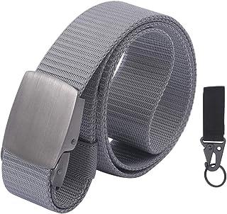 lureme Nylon Belt Military Tactical Men Belt Heavy Duty with Metal Buckle (bt000042)