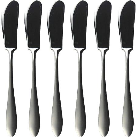 ナガオ 燕三条 バターナイフ 5本+1本 14cm 18-0ステンレス 日本製