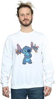 Disney Men's Lilo and Stitch Little Devils Sweatshirt