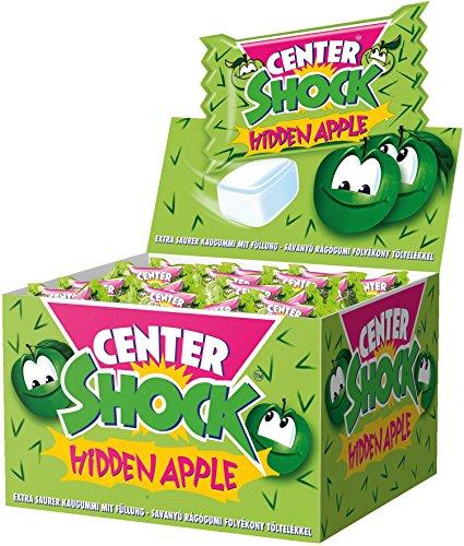 Center Shock Hidden Apple I 1 Box mit 400 g Kaugummis I Apfel-Geschmack extra-sauer
