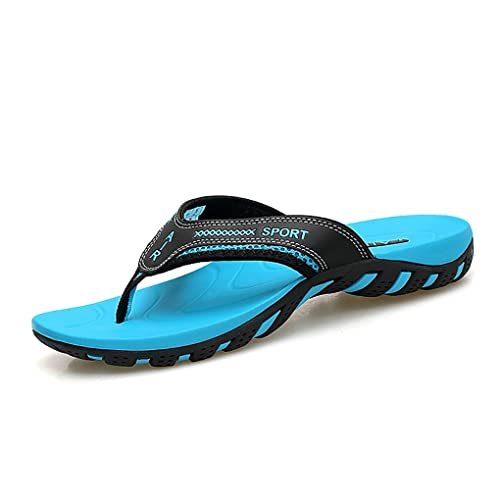 a86f3c24a915c3 Crafeel Mens Casual Flip Flops Beach Summer Sandals Outdoor Slippers with  Arch Support for Unisex