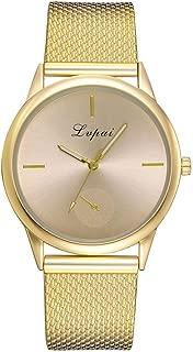 Women's Wrist Watch,WEUIE Women Fashion Quartz Watch Casual Wristwatches with 23.5cm Milanese Mesh Band