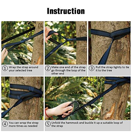 Product Image 5: Kootek Portable Indoor Outdoor Tree Hammock