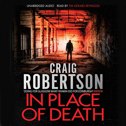 In Place of Death audiobook cover art
