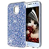 OKZone Galaxy J3 2017 Case, Bling Glitter Sparkle Design