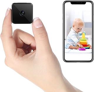 Mini Kamera WLAN, HD WiFi Überwachungskamera Kompakte Kleine Sicherheitskamera –..