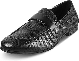tresmode 213-BRIX-BLACK Loafers for Mens