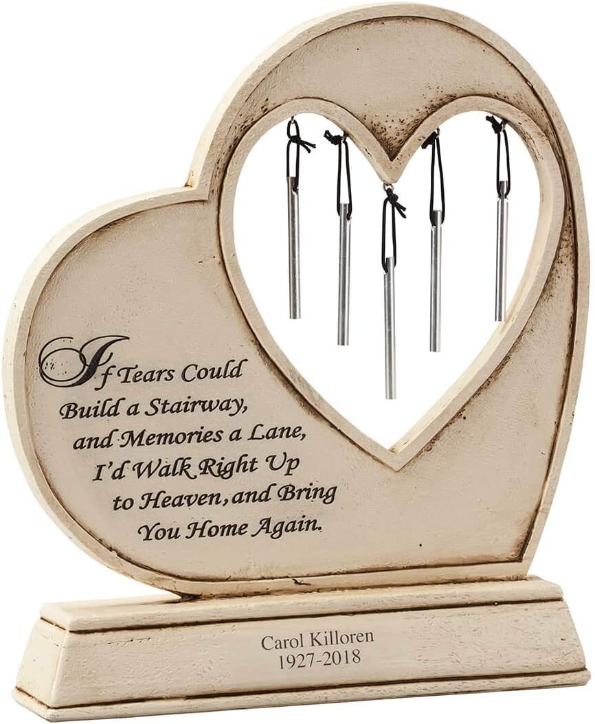 Fox Cheap SALE Start Valley Special Campaign Traders Personalized Memorial Stone Chime Garden Wind