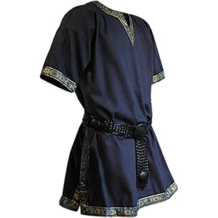 Larp Wams Ärmellos Basic Mittelalterlich Tabard Renaissance Kostüm Tunika-Shirt