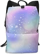 Laptop Backpack Winter Merry Christmas Snow Castle Lake School Back Pack Rucksack Daypack for Women Men