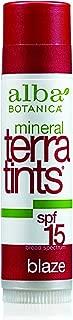 Alba Botanica Terratints, Blaze Lip Balm, 0.15 Ounce