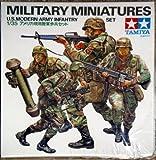 Tamiya Military Miniatures U.S. Modern Army Infantry Set