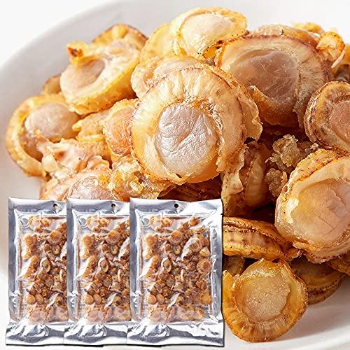 天然生活 焼ほたて 無選別 ふぞろい 国産帆立 ホタテ 貝 お徳用 おつまみ 珍味 (3袋)
