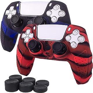 Funda para PS5 DualSense Controller Funda protectora de piel de silicona antideslizante Funda para controlador PS5 Grip co...