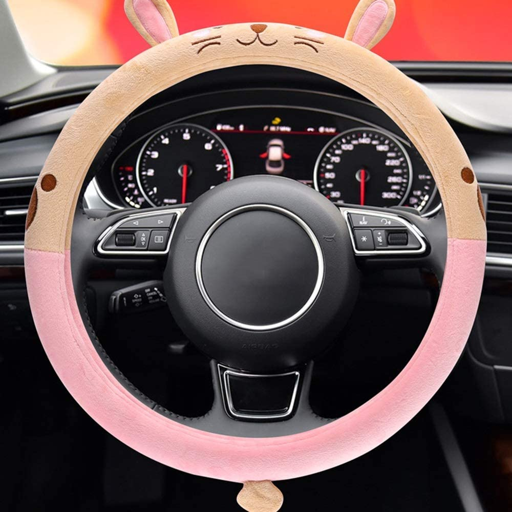 Z.L.Q Steering Wheel Cover Quality inspection Rabbit Cartoon Covers lowest price