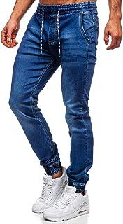 BOLF Hombre Pantalones Jogger Estilo Urbano Bolsillos Mix 6F6