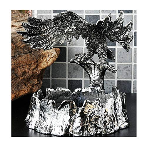 Zr All Metal Personality Fashion Creative Decoration Ashtray European Retro Home Decoration Men's Gift 14.5X17X11X3cm