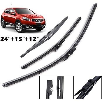 Front Rear Wiper Blades Fits Nissan XTrail 2007 2008 2009 2010 2011 2012 2013 14