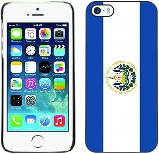 STPlus 国家 国旗 #2 硬质手机壳适用于 Apple iPhone SE / 5 / 5S El Salvador/Salvadoran