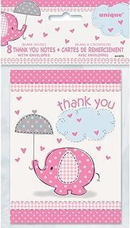 Unique Party Umbrellaphants Thank You Notes