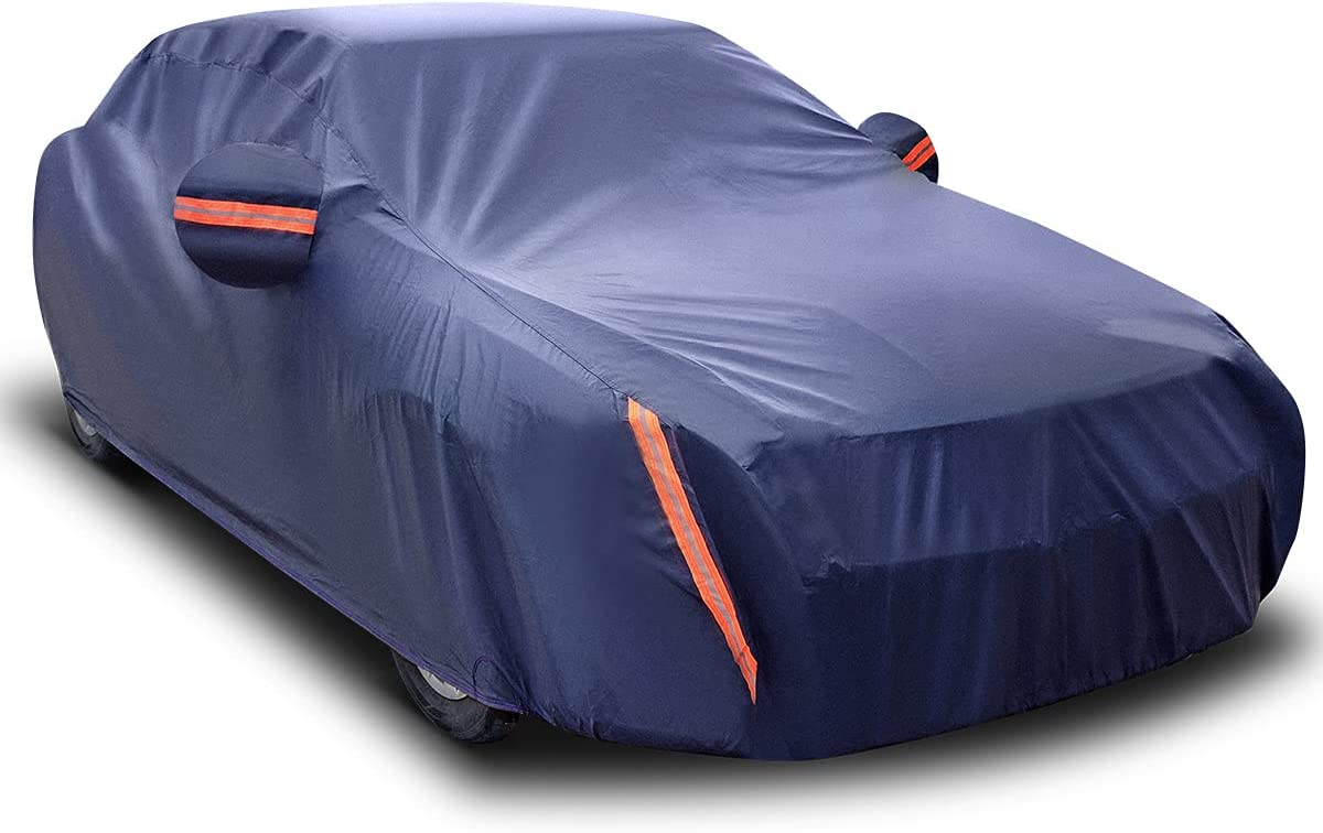 OFFicial mail order AUTOSAVER88 Waterproof Now on sale SUV Car Cover Universal Fit 190inches All