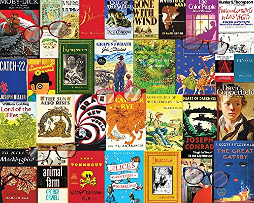 Springbok 1000 Piece Jigsaw Puzzle Nostalgic Novels