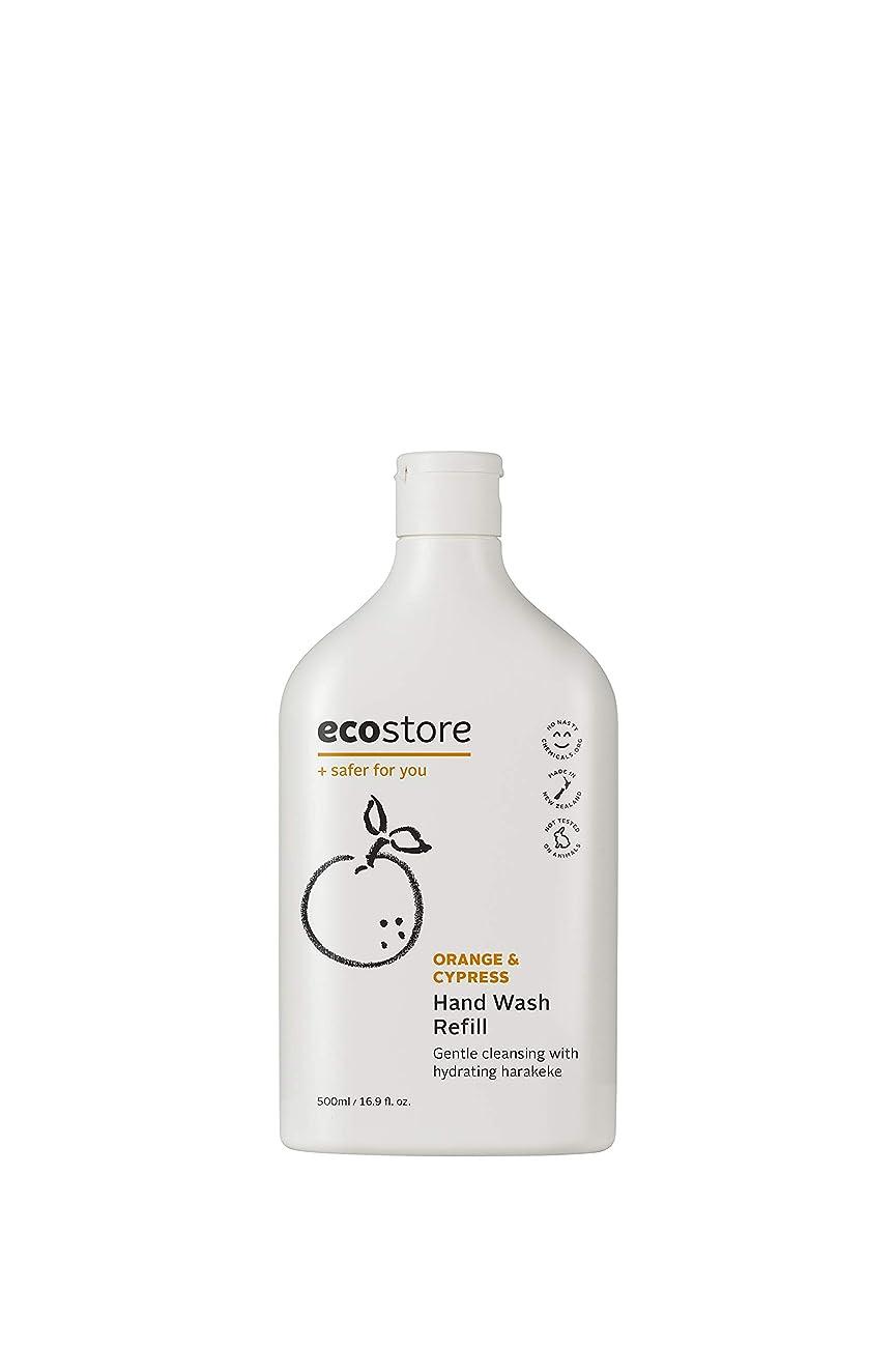 特にフェザー作曲家ecostore(エコストア) ハンドウォッシュ 【オレンジ&サイプレス】 500ml 詰め替え用 液体タイプ