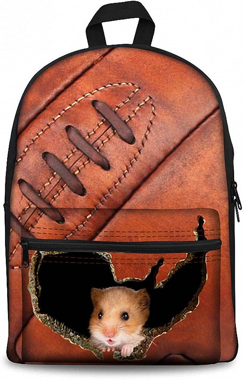 Unisex 3D Backpack Student Bookbag Travel Laptop School Bag School Cat Printing for Teenager Girls Boys Large School Bag Gifts W3834J 39x29x17 cm