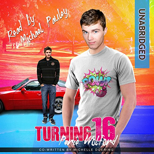 Turning 16 audiobook cover art