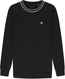 Lyle and Scott Tipped Pique Sweatshirt - Cotton