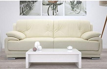Furny Rocco Double Seater Sofa (Cream)