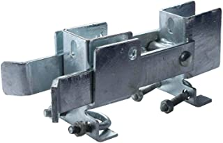 Chain Link Residential Strong Arm Double Gate Latch - Latches Two Gates Together Without The Need of a Drop Rod - Chain Link Double Gate Latch for 1-3/8