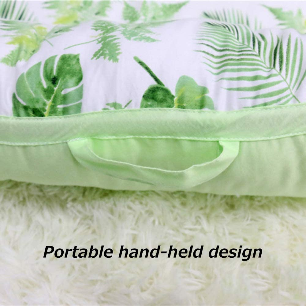 Bedside guardrail Lit bébé bionique, barrière de sécurité Amovible pour Berceau en Coton lit utérin bionique, adapté aux Nouveau-nés de 0 à 1 Ans 17