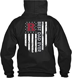 ROEBAGS Father's Day 2019 T Shirt, Rutgers Scarlet Knights Best Dad Ever T Shirt - Hoodie