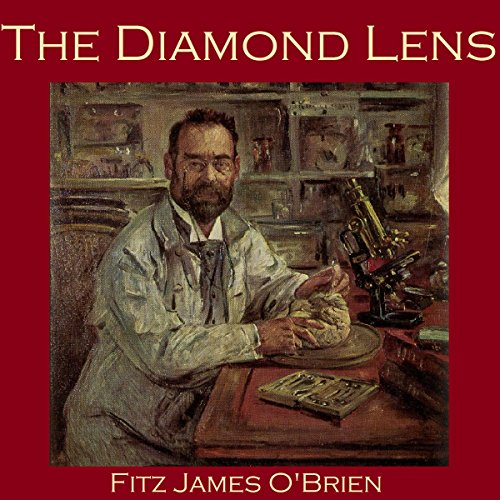 The Diamond Lens audiobook cover art