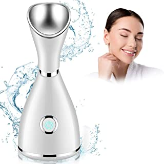 Nano-Ion Steam Face, Facial Steamer, Professional Spa Home Facial Steamer, Skin Care - Quick Steam Sprayer Moisturizes Skin