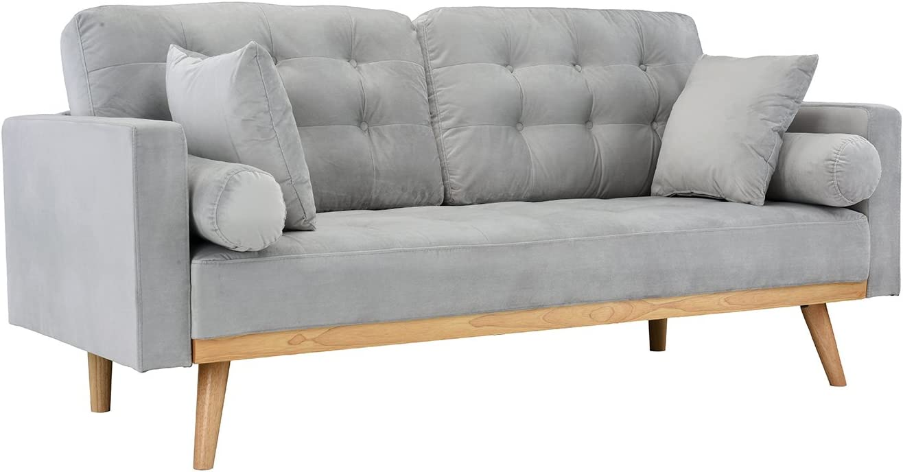 Casa Andrea Sale item Milano llc Mid Modern Upholstered Century Fab Max 79% OFF Tufted