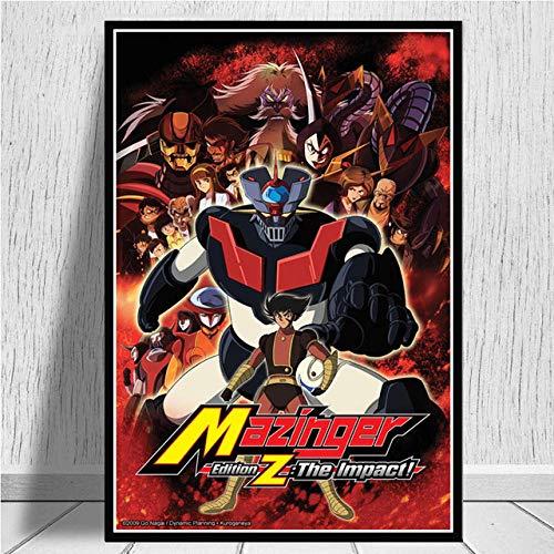 FPRW Rompecabezas - Mazinger Z Infinity Anime Movie Rompecabezas de Madera 1000 Piezas, Alta dificultad Arte Rompecabezas Juegos Juguetes para descompresión
