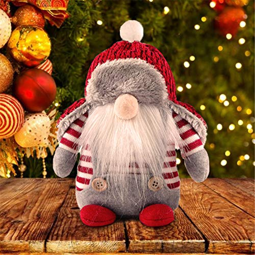 VWMYQ Gnomes Christmas Decorations Clearance Christmas Decor Swedish Handmade Plush Knomes Ornaments Thanksgiving Decorations for Home Holiday Adorable Lucky Easter Xmas Gift Stuffed Elf (type2)