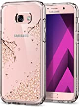 Spigen Crystal Shell Galaxy A5 2017 Case with Clear Back Panel and Reinforced Corners on TPU Bumper for Galaxy A5 (2017) - Blossom Clear Crystal