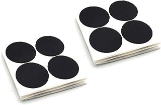 Furniture Pads Adhesive Felt Pads 32mm Diameter 3mm Thick Round Black 16Pcs