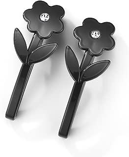 EVITA PERONI Fleur Flower Hair Clip With Swarovski Element Crystals, 2.8